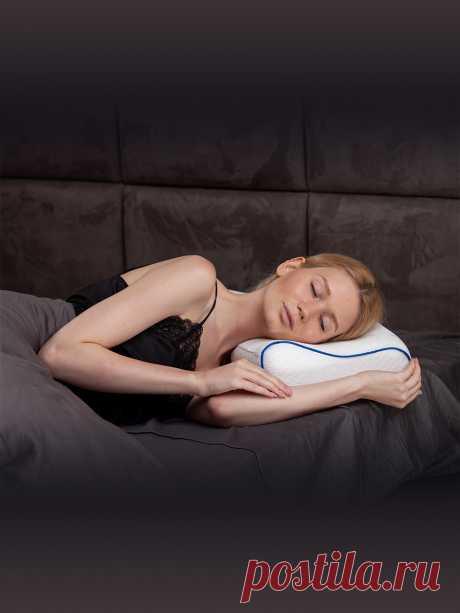 Ортопедическая подушка с эффектом памяти MemorySleep Comfort Plus Air создана специально для комфортного сна на боку. Благодаря выемке, плечо удобно поддерживается, что в свою очередь снимает с плеча напряжение, мышцы расслабляются и нормализуется кровоток. Благодаря перфорации (воздухообмен), рекомендуется для профилактики и лечения пролежней. Уникальная система обеспечивает необходимую для тела терморегуляцию: поддерживает тепло в холодное время года, в жаркое обеспечивает оптимальный