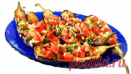 Салат с Дымком в Жженых Баклажанах   Грузинская Кухня от Софии   Яндекс Дзен