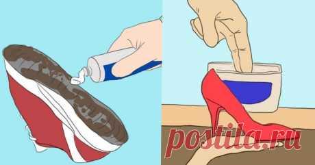 14 лайфхаков для обуви, которые РЕАЛЬНО РАБОТАЮТ! Скорее СМОТРИТЕ!