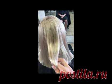 Осветление волос, выход из мелирования