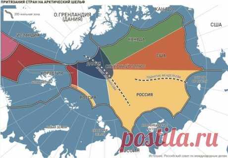 Как Россия получила в 2019 г. миллион квадратных километров, и впервые ли подобное достижение? Или вековая война за Арктику | Мифы и тайны истории | Яндекс Дзен