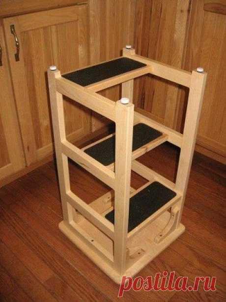 Оригинальный стул-лестница