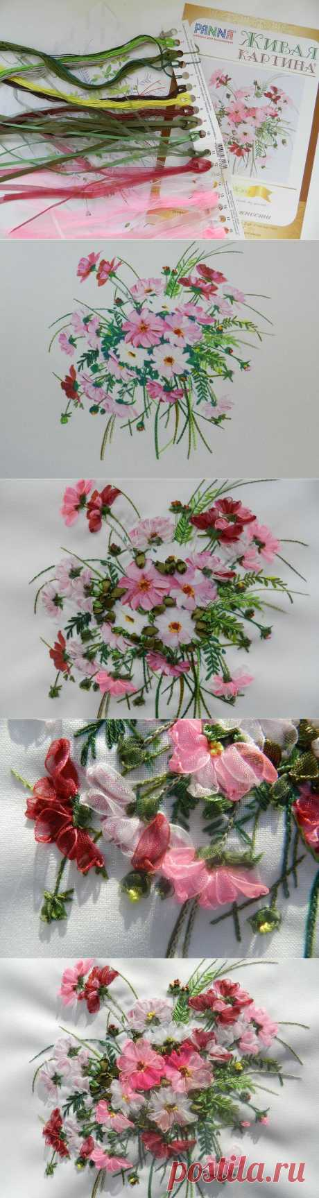 Tenderness breath \/ Flower mood \/ PassionForum - master classes in needlework