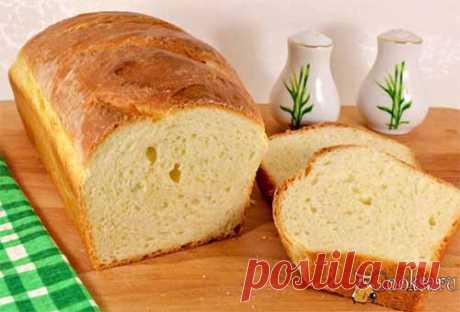 Домашний хлеб на молоке с медом