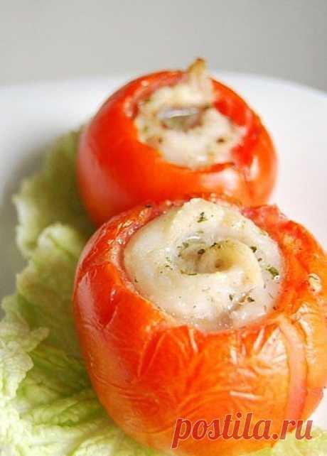 Рыбка в помидорке.