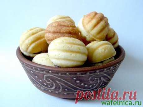 Печенье орешки в орешнице на газу – рецепт с фото