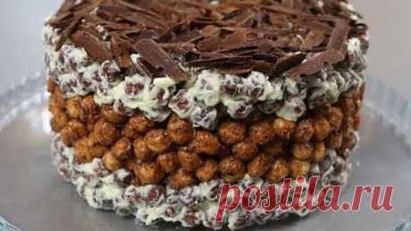 БЕЗ ДУХОВКИ ! Торт из шариков ! Супер-простой рецепт торт без выпечки