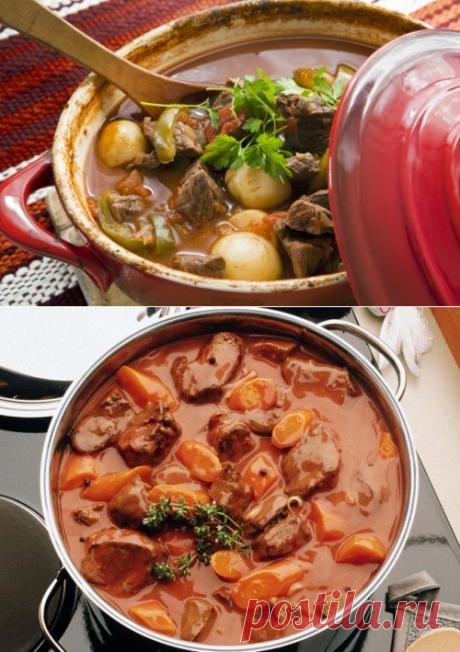 Тушеное мясо – блюда для любимых мужчин / Простые рецепты