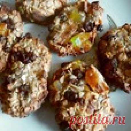 Мюсли-оладушки в аэрогриле Кулинарный рецепт