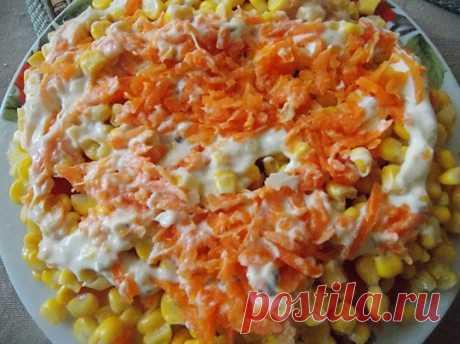 Салат из цветной капусты Капучино