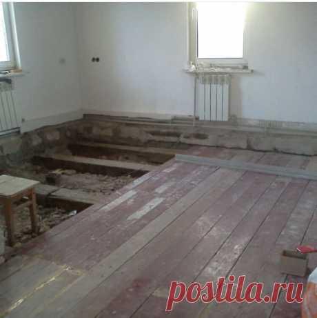 Это вам не Хрущевка! Ремонт в частном Доме со старой печью. Фото Отчёт!