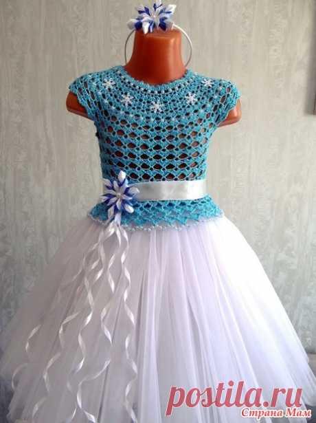 Комбинированные платья - Вязание - Страна Мам