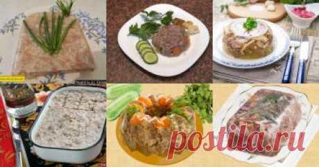 Заливное, холодец, студень из свиной рульки: 8 рецептов - 1000.menu Заливное, холодец, студень из рульки: 8 рецептов
