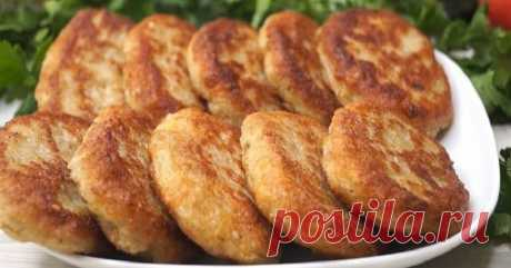 Пошаговый рецепт котлет с овсянкой