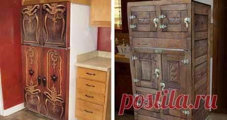 5 простых способов обновить старый холодильник - Учимся Делать Все Сами