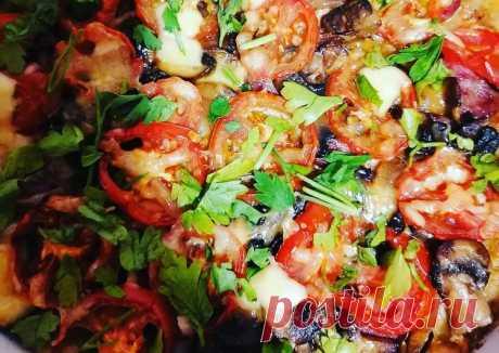(9) Пицца на скорую руку на кефирном тесте - пошаговый рецепт с фото. Автор рецепта Oksana Konovalova . - Cookpad