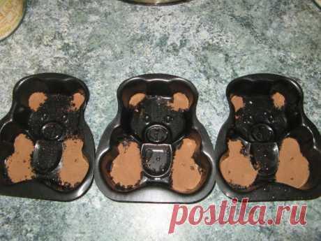 Мишка Барни по-домашнему - пошаговый рецепт с фото - как приготовить - ингредиенты, состав, время приготовления - Дети Mail.Ru