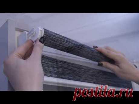 Инструкция по установке рулонной шторы День-Ночь Мини DELFA