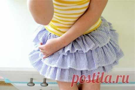 Как сшить юбочку с рюшами для девочек — Рукоделие