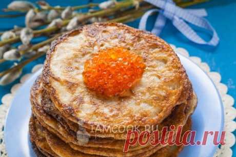 Постные гречневые блины — рецепт с фото пошагово