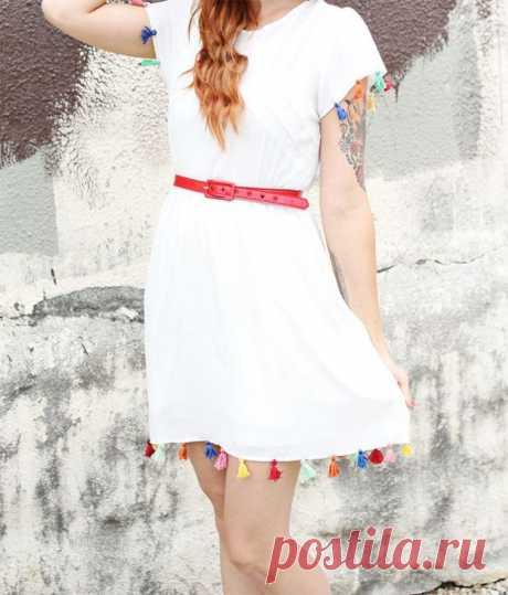 El vestido con los pinceles \/ los Vestidos Diy \/ la SEGUNDA CALLE