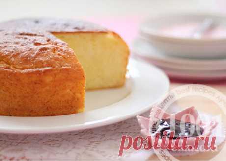 Кекс на йогурте в мультиварке - Кекс в мультиварке от 1001 ЕДА