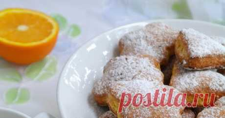 Pumpkin cookies with cardamom and an orange dried peel I again with pumpkin! During a season I often train her... For various reasons. First, in my family pumpkin uses deserved sympathy, and...