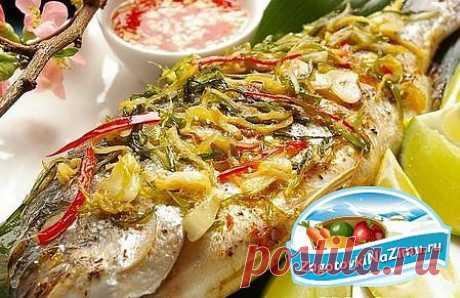 как приготовить рыбу в духовке, как приготовить рыбу в духовке вкусно