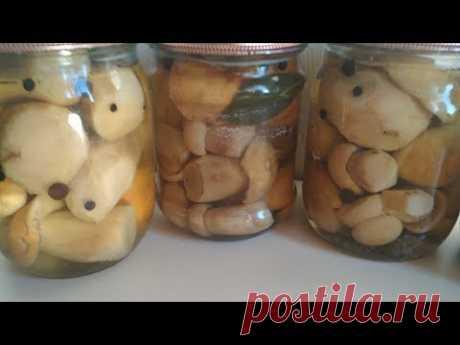 Вкусный маринад для грибов - Лучший сайт кулинарии