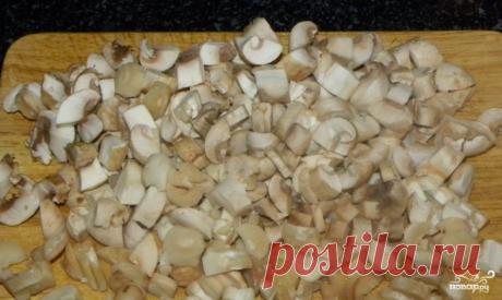 Лазанья с мясом и грибами