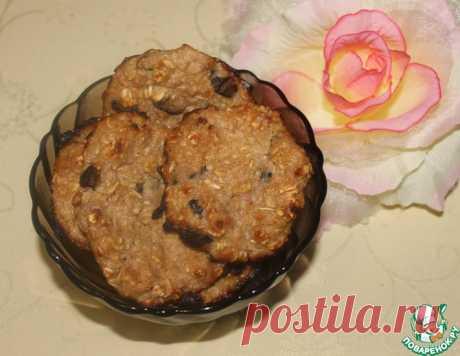 Диетическое овсяное печенье – кулинарный рецепт