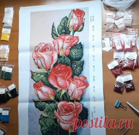 Как научиться вышивать бисером, хранение бисера
