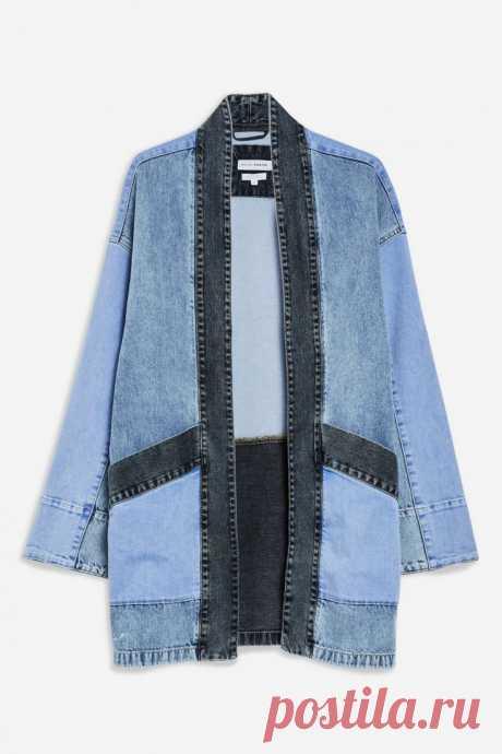 Джинсовое кимоно TopShop Модная одежда и дизайн интерьера своими руками