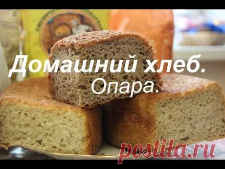 El pan casero. La parte II. La pasta.