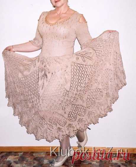 Knitted skirt - the sun | the Ball