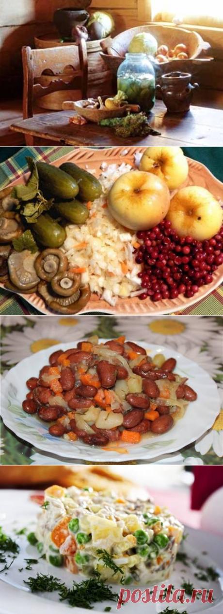 Правильное питание во вторую неделю Великого поста / Простые рецепты
