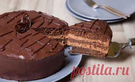 Торт Пражский: идеальное лакомство для любителей шоколада - На Кухне