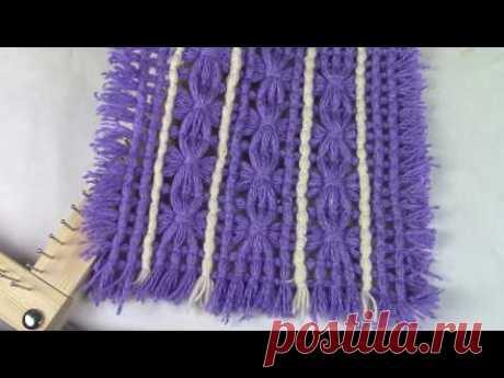 Плетение на квадратной рамке ХоббиМаркет