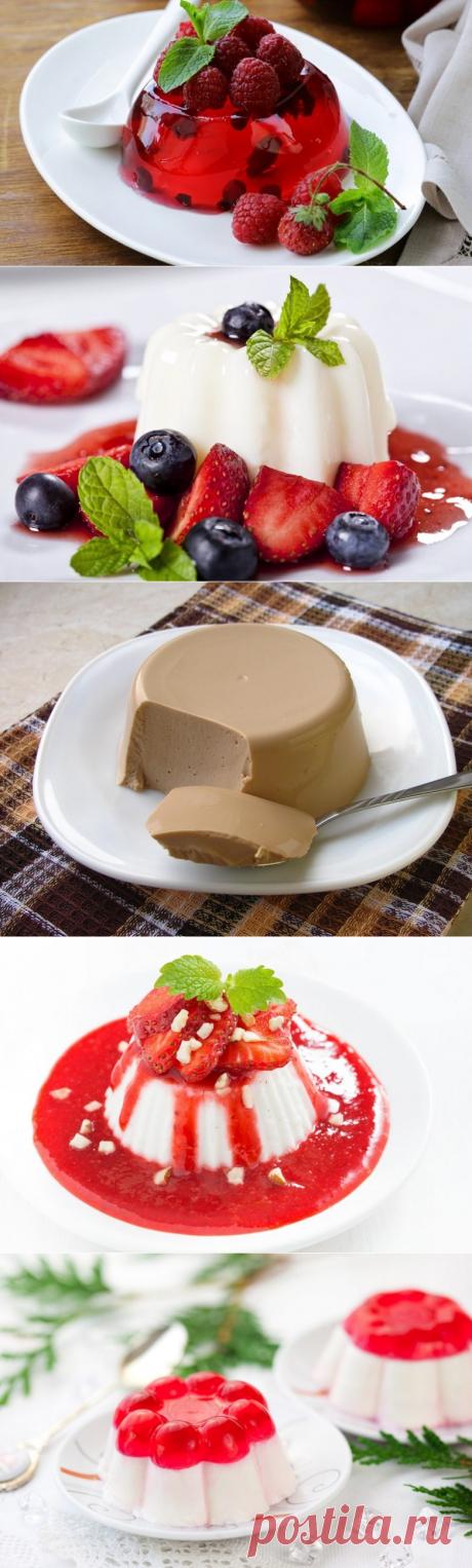 5 самых лучших желейных десертов!