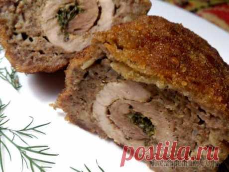 ¡Las croquetas la carne en la carne - la receta querida familiar!