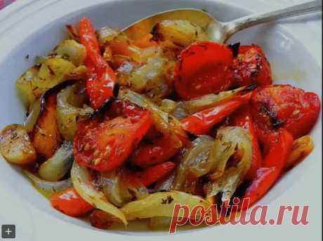 Овощи, запечённые в маринаде,фантастически вкусно! | Самые вкусные кулинарные рецепты