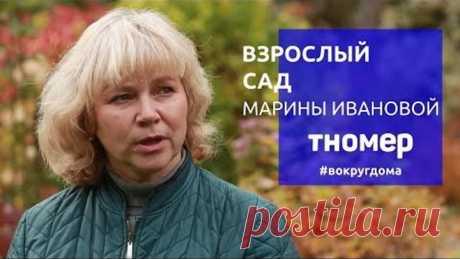 Взрослый сад коллекционера и профессионала Марины Ивановой | #ВокругДома