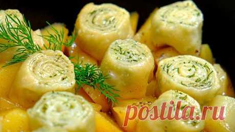 Нудли - Штрудли – Восхитительный обед из простых продуктов! Очень вкусный обед из простых и доступных ингредиентов – нудли или штрудли – это мягкое сочное мясо с картошкой в наваристой подливке, которое готовится с пы...