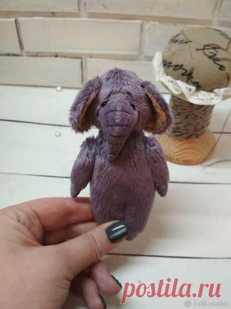 Шьем милого плюшевого слоника