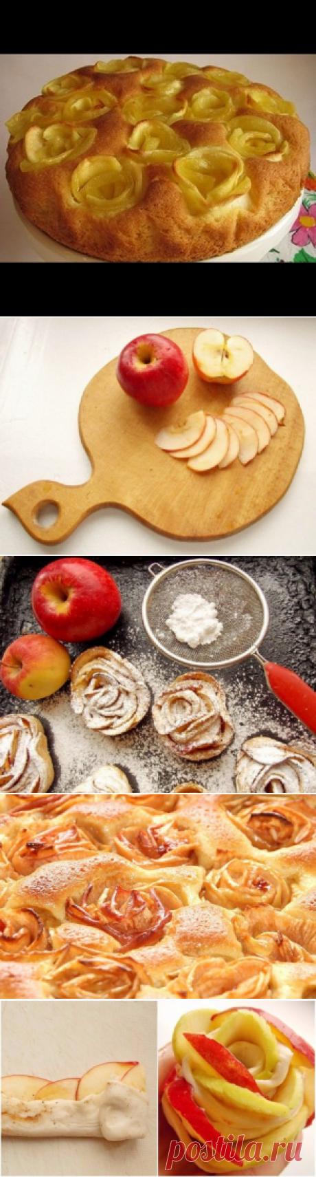 Оригинальная яблочная шарлотка!