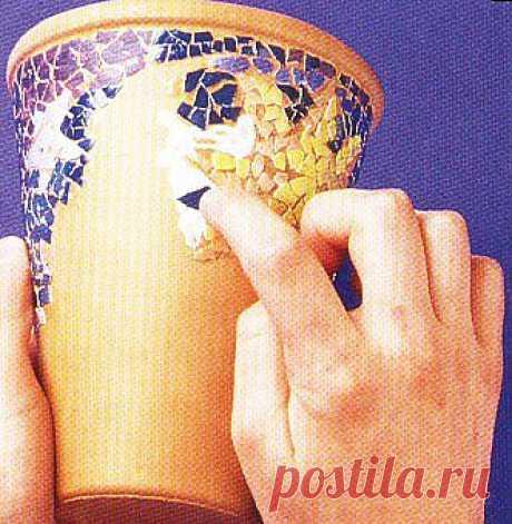 Мозаика из яичной скорлупы / Поделки из необычных материалов / Сообщество CRAFTi - Идеи и их воплощение. Делаем своими руками все, что возможно!
