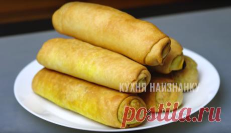 Пирожки наоборот (мало теста, много начинки): без яиц, молока и дрожжей | Кухня наизнанку | Яндекс Дзен