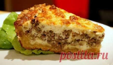 Пирог с капустой и фаршем - рецепт с фото / Простые рецепты