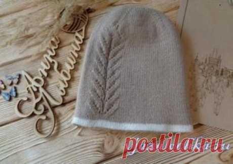 Двухсторонняя шапочка спицами от bers139