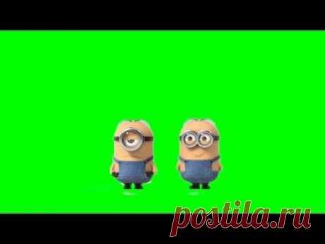"Minion  Farts  1080p HD ""greenscreen""""mini movie"""